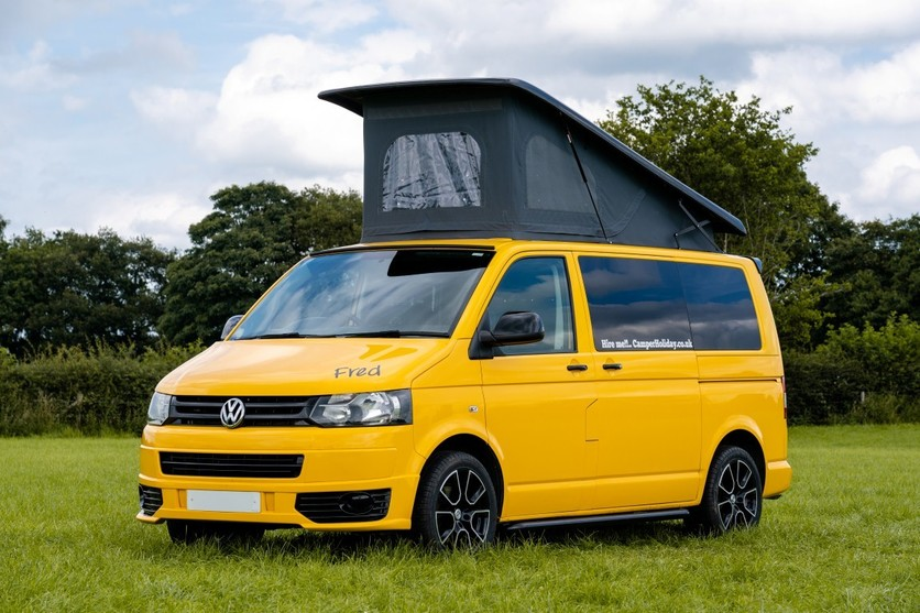 Hire a campervan Fred